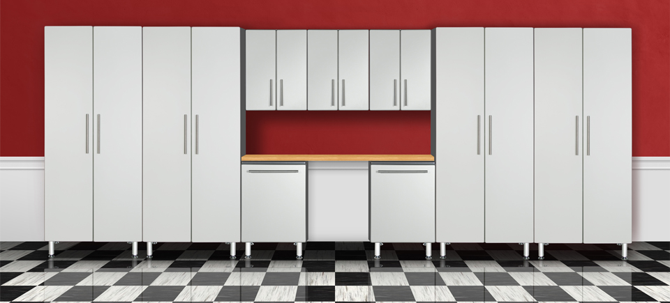 Ulti MATE Garage Cabinet Set Rendering