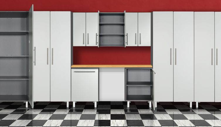 Ulti-MATE Garage Cabinet Set Rendering